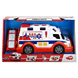 Dickie Toys 203308360 - Action Series Ambulance, Rettungswagen, 33 cm