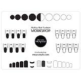 MoYou Nails - Alfombrilla de silicona para sellar uñas, protege las superficies