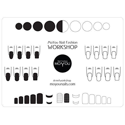 MoYou Nails, tappetino in silicone per stamping e nail art che protegge le superfici di applicazione