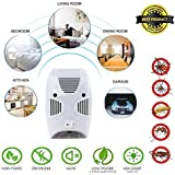 XENOTY Ultrasonic Pest Repellent for Kitchen, Living Room, Office, Electronic Bug Repellent Reject Ant, Rate, Rodent, Insect, Bed Bug, Rodent, Pet Safe, Eco-Friendly, Upgrade Device