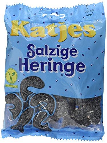 Katjes Salzige Heringe – Lakritz Heringe – Der Klassiker unter den Süßigkeiten (10 x 200 g)