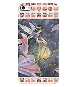 ColourCraft Love Angel Design Back Case Cover for APPLE IPHONE 4