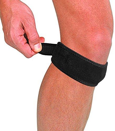 LTG verstellbar Patella Jumper 's Knee Brace Unterstützung Gurt Tendonitis Running - Patella Tendonitis Gurt