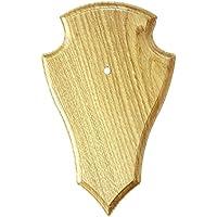 Fritz Muñeco Escudo para portanombres de Corzo Trofeos Presas placa trofeo–Rótulo caballete (Varios Modelos, marrón claro, medium