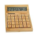 Calculadora Solar de Bamboo Style Calculadora Financiera Creativa de Negocios, A1