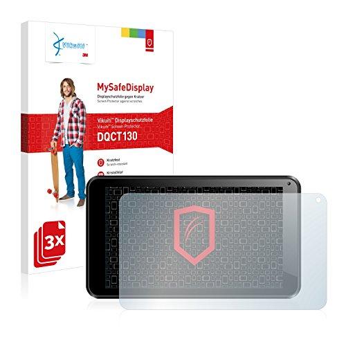 Vikuiti DQCT130 Odys Intellitab Schutzfolie von 3M [3er Set] kristallklare Bildschirmschutzfolie Folie Bildschirmfolie