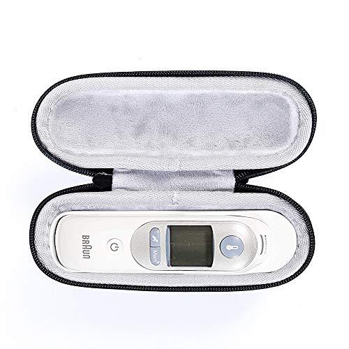 Tasche für Braun ThermoScan 7 Infrarot Ohrthermometer IRT6520 Hülle Wasserdicht Shockproof and dustproof Schutzhülle Tragetasche Protective Storage Case Travel Bag Hard Cover (Model2)