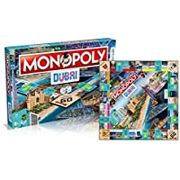 Hasbro Monopoly Dubai Official Edition 1 DGR, Blue