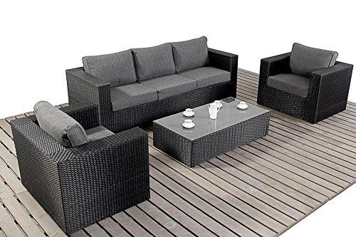 Prestige Large Sofa Set Luxury Rattan Garden Furniture