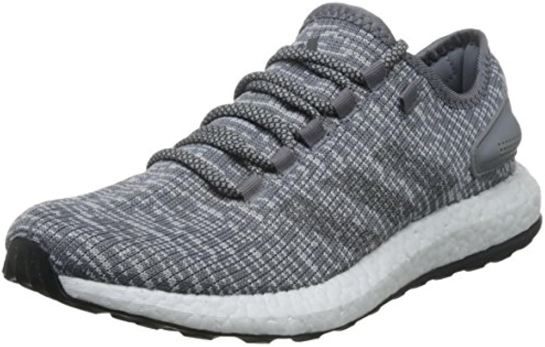 Adidas Pureboost, Zapatillas de Running para Hombre, Gris (Grey/DGH Solid Grey/Clear Grey), 39 1/3 EU