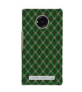 EPICCASE greenish florist Mobile Back Case Cover For YU Yuphoria (Designer Case)