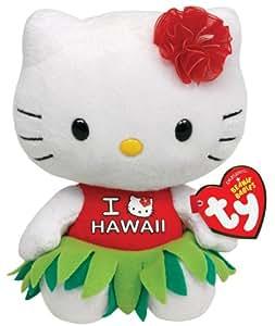 Ty Beanie Babies Hello Kitty Plush, Hawaii
