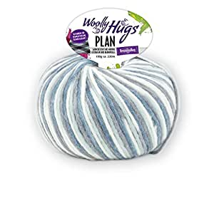 Woolly Hugs Plan Colour 83 100g Merino Wool Extra Fine With Cotton