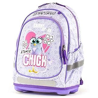 Angry Birds 19AB-905-AC – Mochila, 41 cm, 23 L, diseño de Atomic Chick