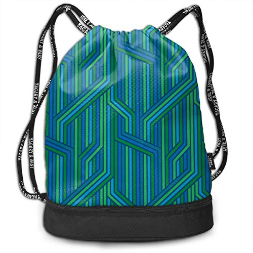 Alice_Home_Collect Manipulation Covent Gardens Drawstring Backpack Sports Athletic Gym Cinch Sack String Storage Bags for Hiking Travel Beach