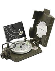 Professionelle Multifunktions Military Army Metall Visieren Kompass w/Neigungsmesser Camping und Wandern Wasserdicht Kompass grün Farbe