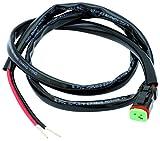 AdLuminis Anschlusskabel mit Verbindungsstecker für LED Light Bar, Arbeitsscheinwerfer, 10-30 V, 100cm