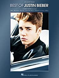 Best of Justin Bieber for Big-Note Piano by Justin Bieber (2012-12-17)