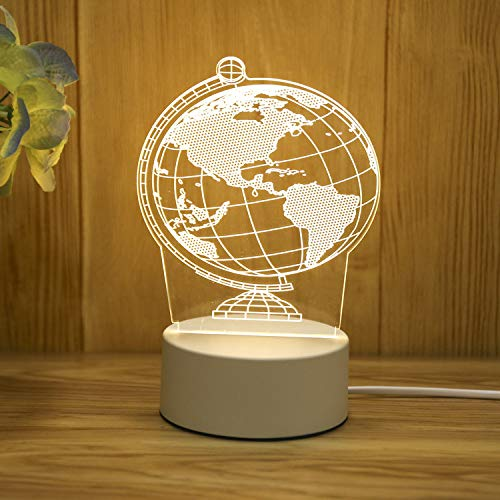 USB Nachtlicht Kreative Cartoon Tischlampe Schlafzimmer Flur Beleuchtung Dekoration Geschenk Licht...