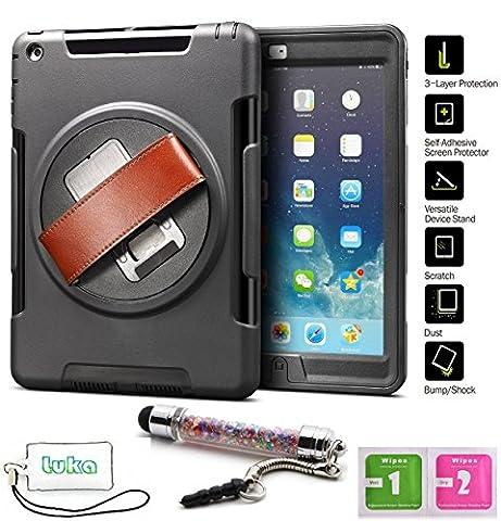 LuKa Tablet-Schutzhülle, apple ipad air 1, schwarz, Stück: