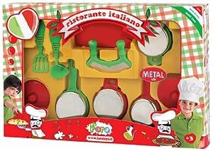 Faro 4211 - Set de ollas de metal y accesorios de cocina