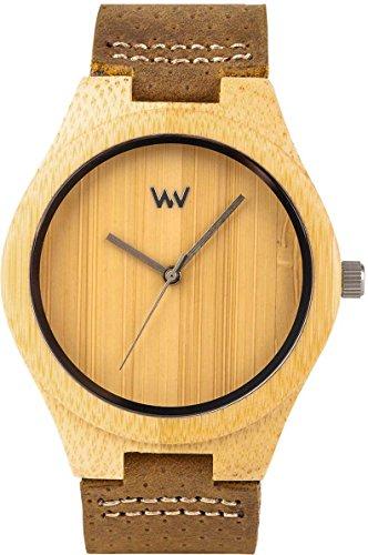 WEWOOD Dellium Bamboo - Reloj de hombre
