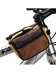 Bazaar Cadre de la bicyclette ROSWHEEL sac double vélo sac de tube de l'avant