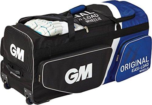 Gunn & Moore Cricket Original Easi Laden Wheelie groß Fledermaus Kit Bag schwarz/gelb