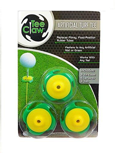 Tee Claw - Aide à la formation au golf - l'original (jaune...