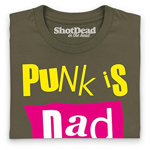 Punk Is Dad T-Shirt, Damen Olivgrn ...