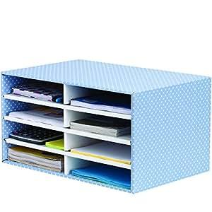 Bankers box style desktop sorter blue white pack of 1 - Organizador de papeles ...