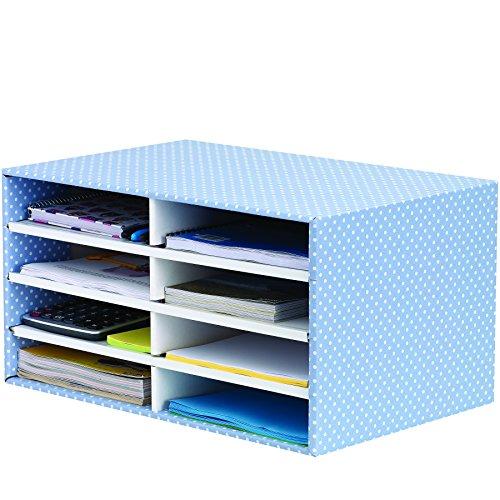 Bankers Box 4482501 Style Series Schreibtisch Organizer, blau/weiß