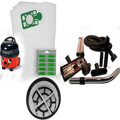 Preisvergleich Produktbild Premium Qualität Henry Staubsauger-Umbau-Set: Beutel Filter,  komplettes Werkzeug Kit Schlauch Air Fresh