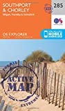 Southport and Chorley (OS Explorer Active Map)