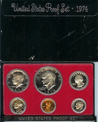 1974 United States Proof Set by US Mint - San Francisco