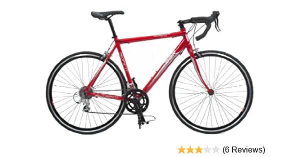 DBR by Raleigh Mens Road Bike - Red, 28-inch Wheel, 47cm Frame ...
