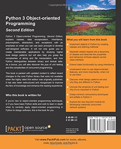 Python 3 Object-oriented Programming -