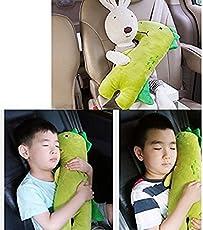 Tofree Auto-Sicherheitsgurtbezug für Kinder, Motiv Dinosaurier