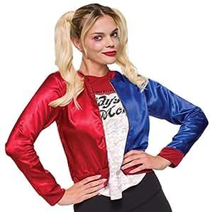 Rubie's Offizielles Suicide Squad Damen Harley Quinn Joker Kostümkit, Mehrfarbig, S (Herstellergröße: 8-10)