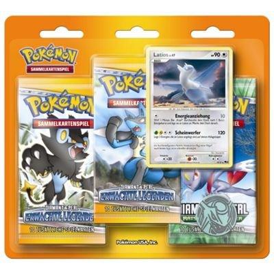 Pokemon Diamant & Perl 4-6 3er Booster Set inkl. Latios (Pokemon Diamant)