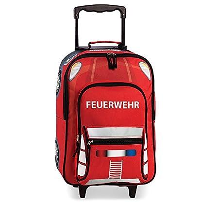FEUERWEHR-Kindertrolley-Kinderkoffer-Kindergepck-Trolley-Koffer-20517-0200