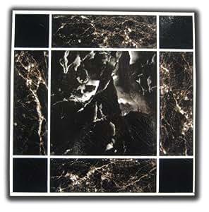 Piastrelle per pavimento di vinile adesive effetto marmo - Piastrelle adesive amazon ...