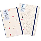 Mid-Year Busy Life Pink Diary/Nude Notebook Set