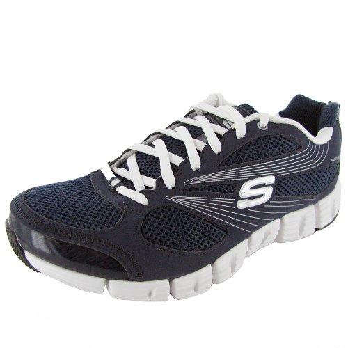 Skechers, Scarpe da corsa donna Navy White