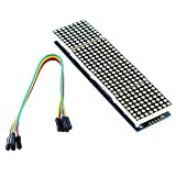 4-in-1 MAX7219 8x8 LED Matrix-Display