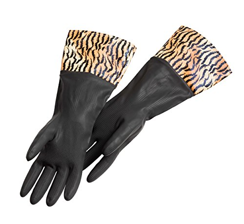 Haug Gummi-Handschuhe TIGER, mit langer Stulpe, Latex/PVC