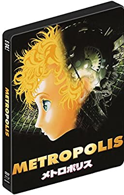 OSAMU TEZUKAS METROPOLIS (Limited Edition Dual-Format) SteelBook [Blu-ray]