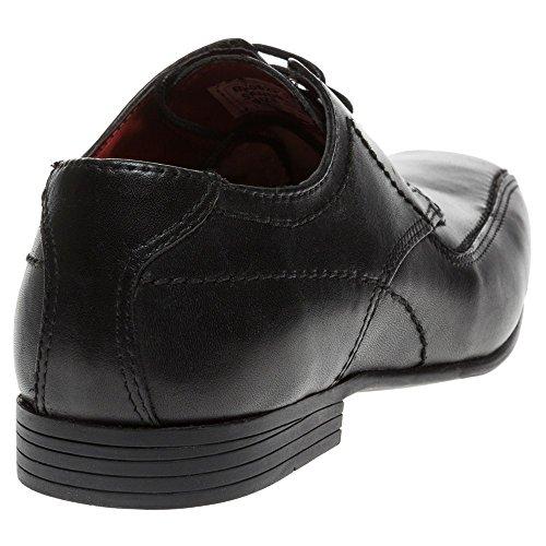 Red Tape , Chaussures de ville à lacets pour garçon Noir - Noir