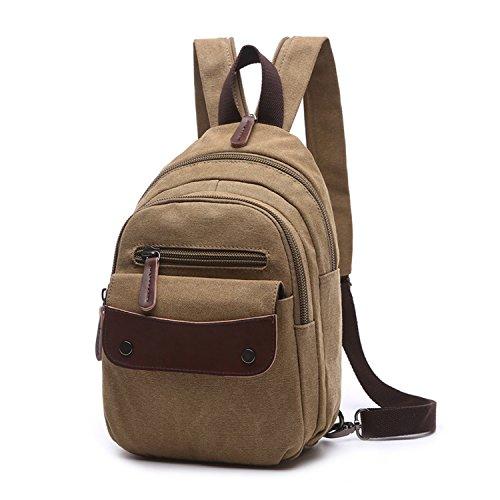 Imagen de outreo  escolares mujer bolsos de viaje vintage backpack casual bag pequeña bolsos de tela para colegio escuela
