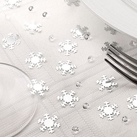 Shimmering Snowflake Party Range - Table